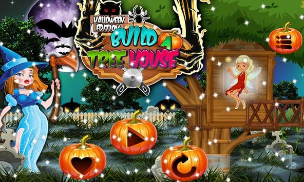 Tree house  builder : Halloween Game screenshot 4