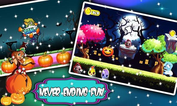 Tree house  builder : Halloween Game screenshot 2