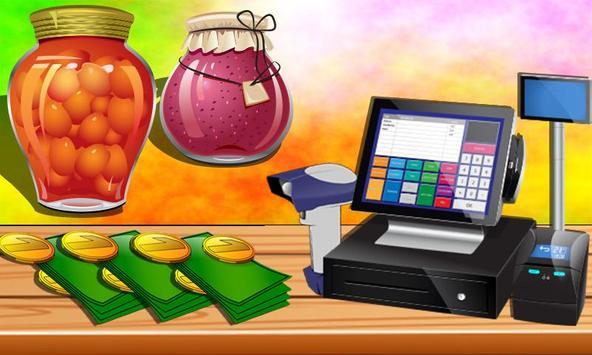Grocery Shop Cashier - shopping game for kids screenshot 4