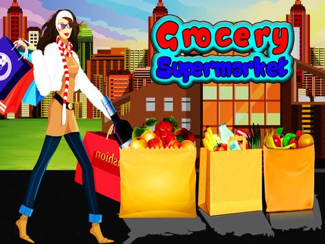 Grocery Shop Cashier - shopping game for kids screenshot 5
