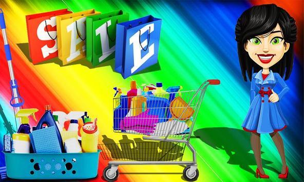 Grocery Shop Cashier - shopping game for kids screenshot 2