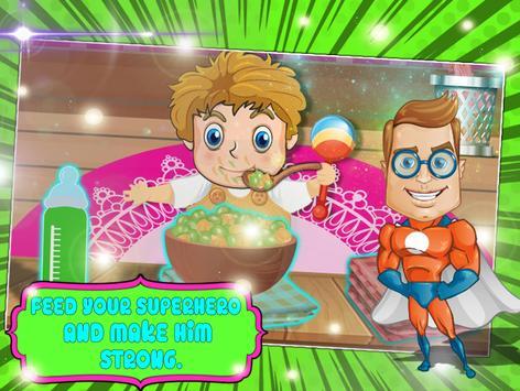 Newborn US Superhero Surgery Pregnant Mommy Games apk screenshot