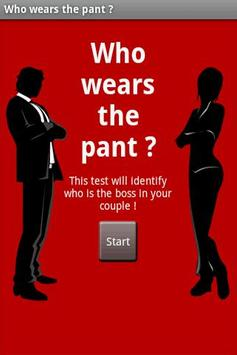 Who wears the pants ? poster