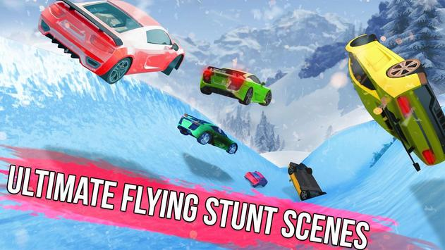 Frozen Water Slide Car Race apk screenshot