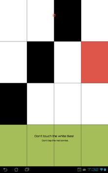 Don't Tap The White Tile Yo poster