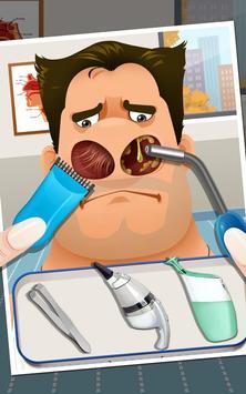 Crazy Nose Doctor - Kids Games apk screenshot
