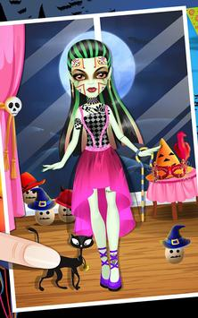 Monster Girl high School salon apk screenshot