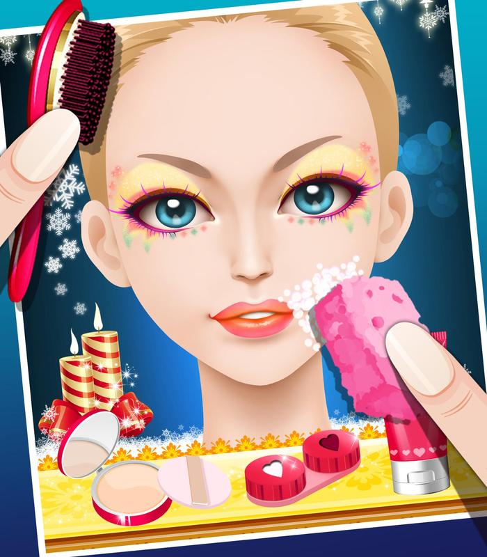 Girls Makeup Makeover And Games: Party Girl Makeover For Android