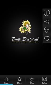 Bonte Electrical poster