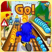 Subway Soni Frozen Running icon
