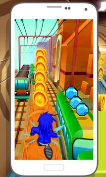 Subway Soni Frozen Running apk screenshot