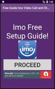 Free Guide Imo Video Call and Chat 2018 poster