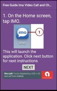 Free Guide Imo Video Call and Chat 2018 screenshot 1