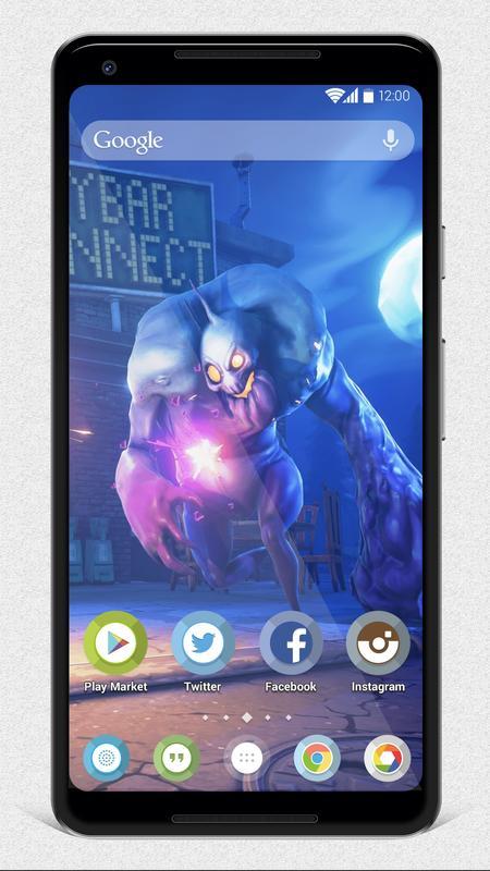 Epic Games Fortnite Wallpapers Apk Screenshot
