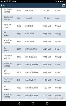 Hartford Airport + Radar (BDL) Flight Tracker apk screenshot