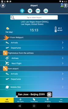 McCarran Airport (LAS) Info + Flight Tracker screenshot 1
