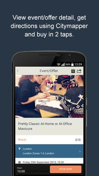 Frugl – Find events in London screenshot 2