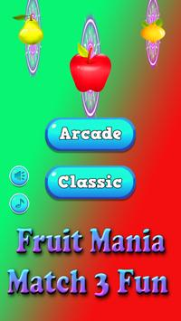 Fruit Mania Match 3 Fun screenshot 1