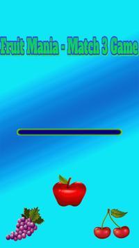 Fruit Mania - Match 3 Game poster