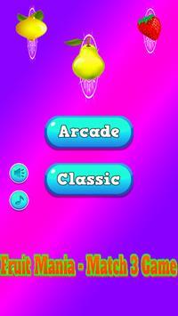 Fruit Mania - Match 3 Game screenshot 1