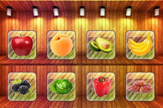 Fruits Vegetables For Toddlers kids screenshot 1