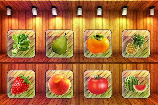 Fruits Vegetables For Toddlers kids screenshot 2