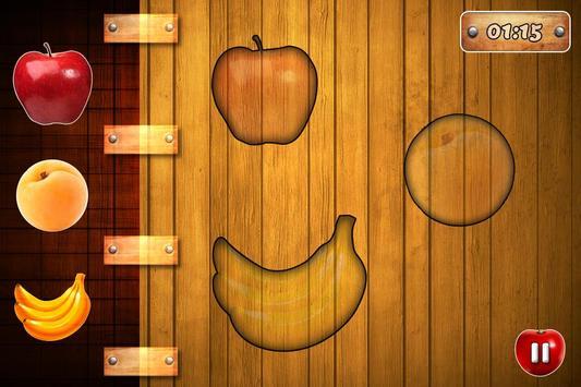 Fruits Vegetables For Toddlers kids screenshot 3