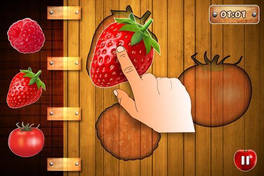 Fruits Vegetables For Toddlers kids screenshot 4