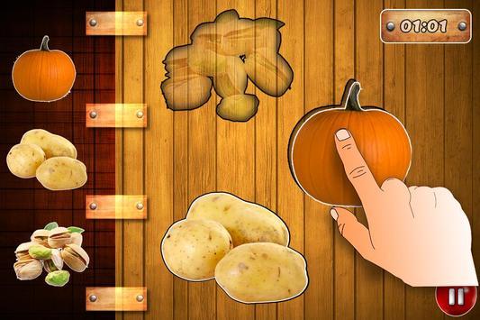 Fruits Vegetables For Toddlers kids screenshot 5