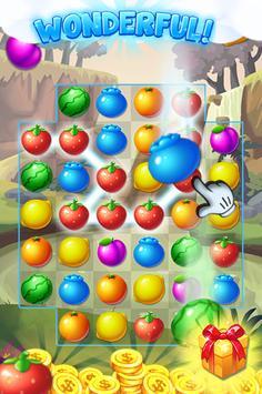 fruit candy blast bear poster