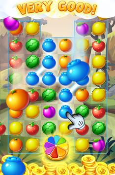fruit candy blast bear apk screenshot