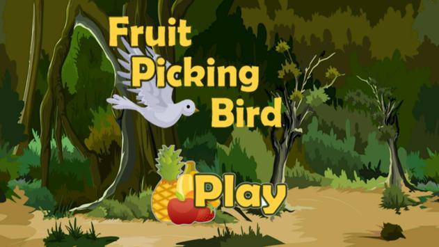 Fruit Picking Bird poster