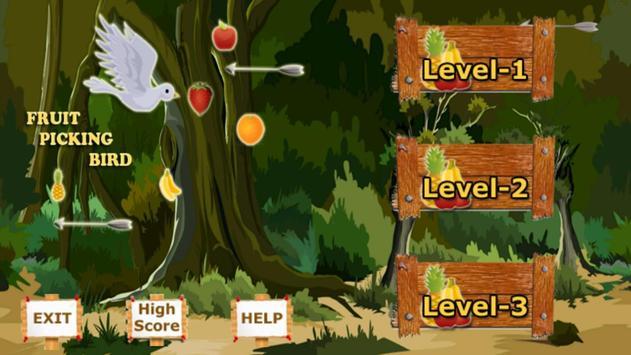 Fruit Picking Bird screenshot 1