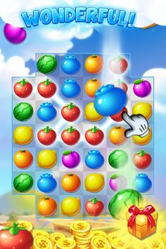 fruit splash candy poster