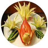 Fruit And Vegetable Carving icon