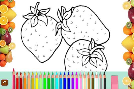 Fruit Coloring Book 2017 Apk Screenshot