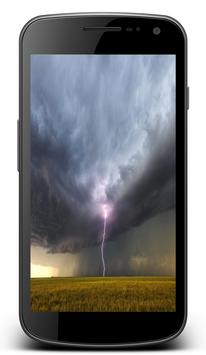 Thunderstorming Lightning Stormy Live Wallpapers screenshot 2