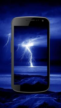 Thunderstorming Lightning Stormy Live Wallpapers screenshot 4