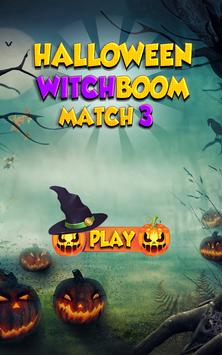 Halloween WitchBoom Match 3 poster