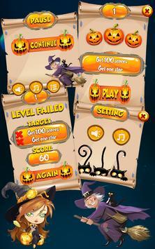 Halloween WitchBoom Match 3 screenshot 4