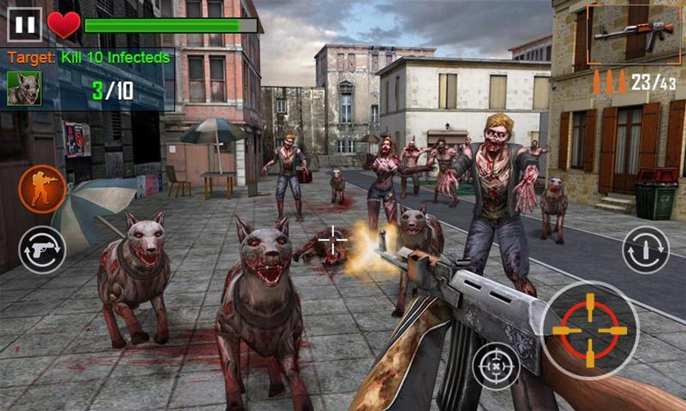 Zombie Games - Play Online Shooting Games