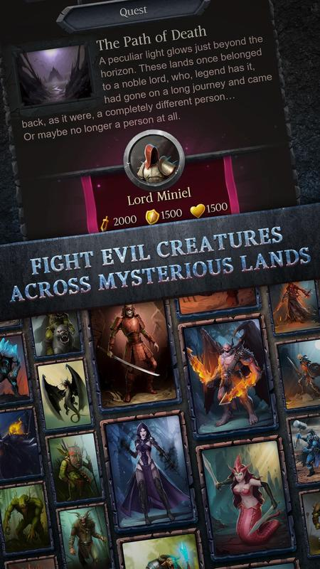 Vengeful Souls Free RPG: Heroes, Clans & Battles poster