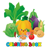 Fruit Vegetable Coloring icon