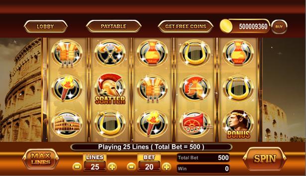 Slots Of Roman Casino poster