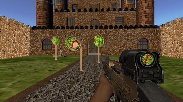Watermelon Fruit Shooting Game 3D - Fruit Shooting screenshot 7