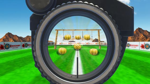 Watermelon Fruit Shooting Game 3D - Fruit Shooting screenshot 2