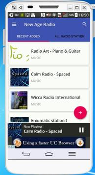 Free New Age Radio apk screenshot