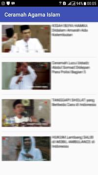 Ceramah Agama Islam apk screenshot