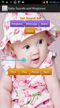 Baby Sounds and Ringtones screenshot 1