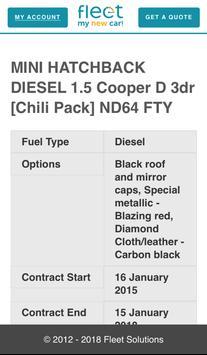 Fleet My New Car screenshot 1